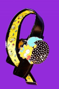 Ceinture-the-simpsons-noir
